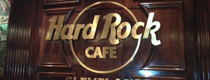 Hard Rock Cafe Cleveland is one of Tempat yang Disimpan Ana.