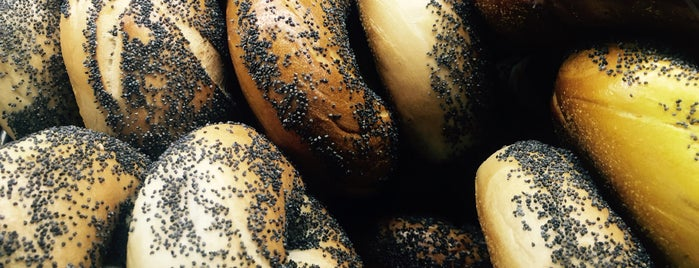 Bagelsmith Bedford is one of NYC's Best Bagel Shops.