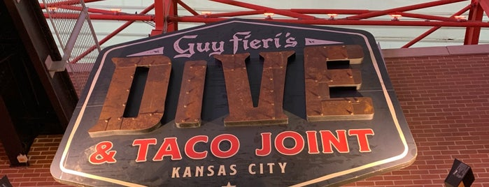 Guy Fieri's Dive & Taco Joint is one of New: KC 2019 🆕.