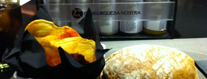 Hamburguesa Nostra is one of Hamburguesas De Madrid.