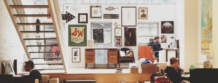 Shipley & Halmos Showroom & Studio is one of Shop.