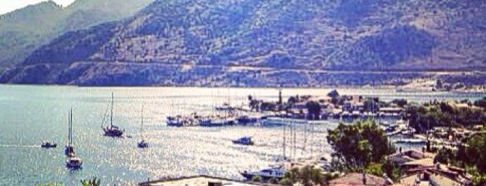 Saadet apart is one of Marmaris.