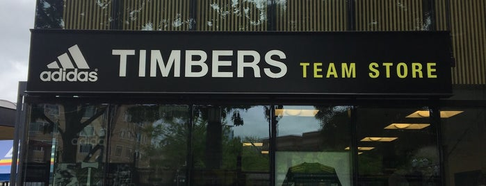 adidas Timbers Team Store is one of My Saved Places.