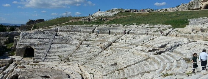 Teatro Greco di Siracusa is one of South Italy.