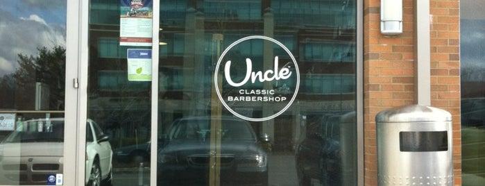 Uncle Classic Barbershop is one of Tempat yang Disimpan David.