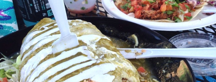 El Camión Adentro is one of 40 Must-Try Burritos.