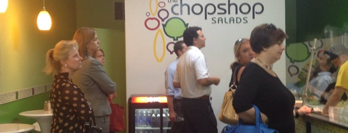 The Chopshop Salads is one of Downtown Lunch Grind.
