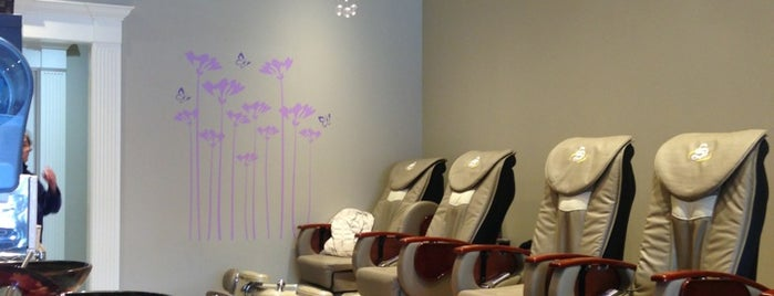Piedmont Nails & Spa is one of Lugares favoritos de Nikki.