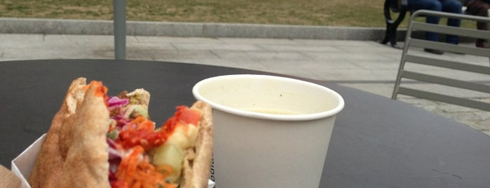 Clover Food Truck (Dewey Sq) is one of Food.