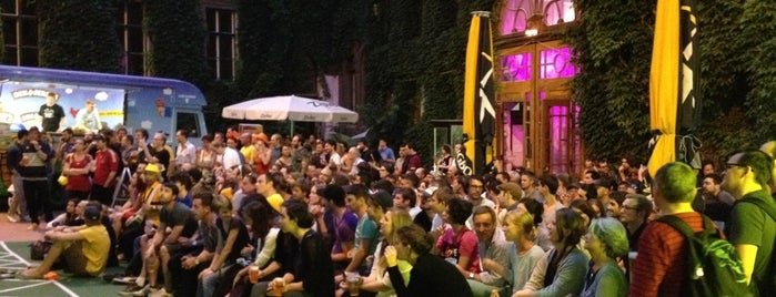 WUK is one of World Cup 2014 :: Best Public Viewing in Vienna.
