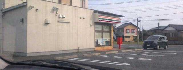 セブンイレブン 東金武射田店 is one of 田舎のランドマークコンビ二@千葉・東金基点.