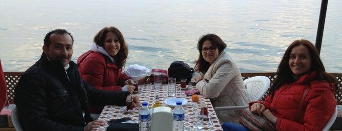 Narlı Yakamoz Restaurant&Çay Bahçesi is one of Locais curtidos por Erkan.