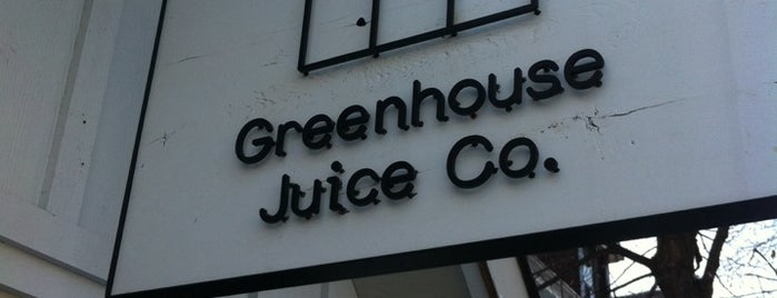 Greenhouse Juice Co is one of De viaje! :3.