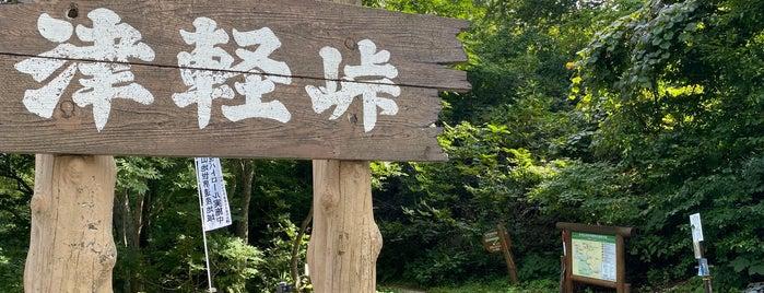 津軽峠 is one of 超す峠 (my favorite passes).