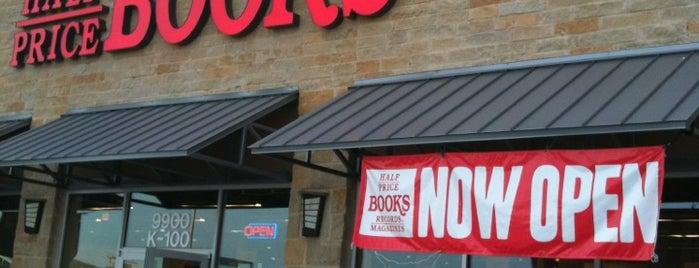 Half Price Books is one of สถานที่ที่ A ถูกใจ.