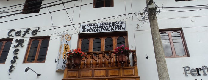 Chachapoyas Backpackers is one of Locais curtidos por Xavi.