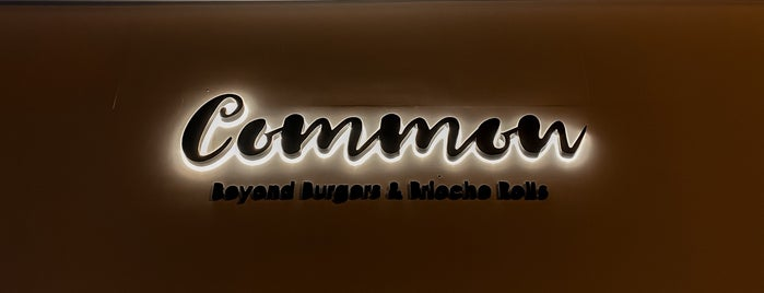 Common is one of Places to go!.