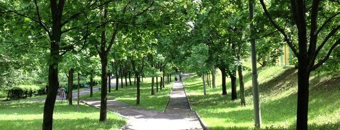 Парк 30-летия Победы is one of Lieux sauvegardés par Galina.