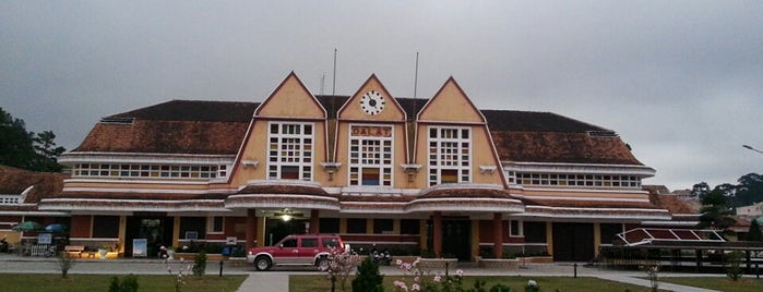 Dalat Train Station is one of Jas' favorite urban sites.