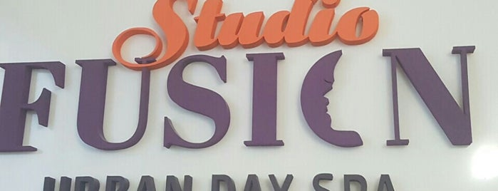 Studio Fusion Urban Day Spa is one of Lugares favoritos de Stephi S..