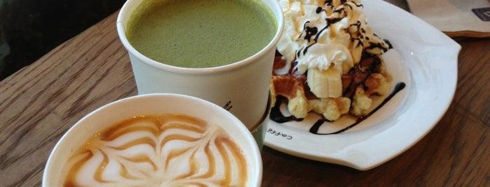 Caffé Bene is one of Locais curtidos por Gregg.