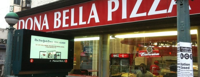 Dona Bella Pizza is one of President Obama.