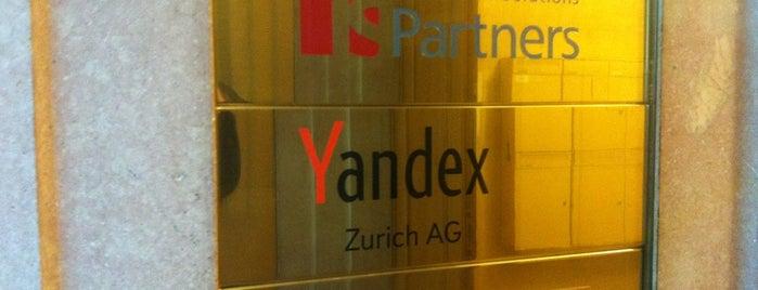 Yandex Zurich AG is one of Startups World.