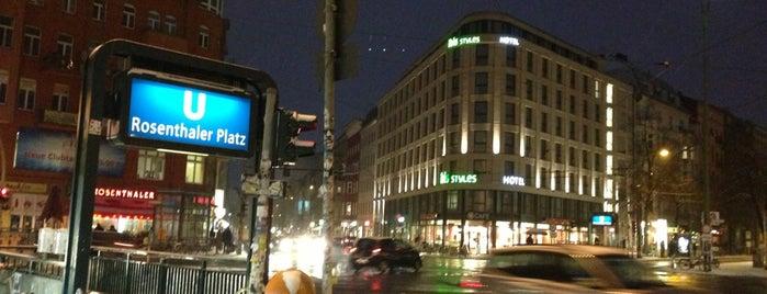 Rosenthaler Platz is one of Viagem.