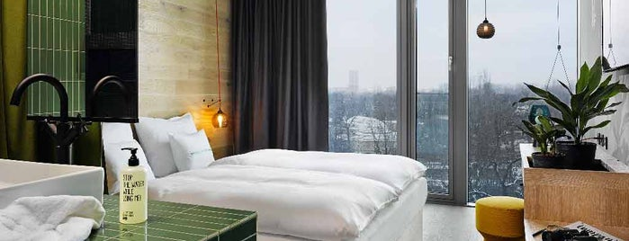 25hours Hotel Bikini Berlin is one of berlin to do list.