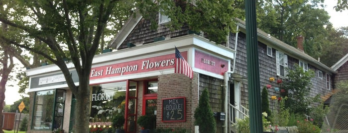East Hampton Flowers is one of Locais curtidos por Alika.