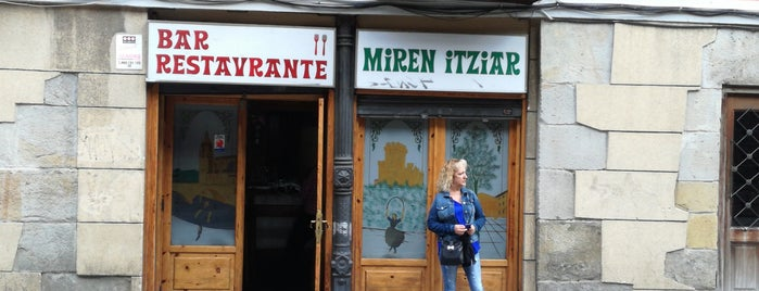 Restaurante Miren Itziar is one of Best Tortillas in Spain.