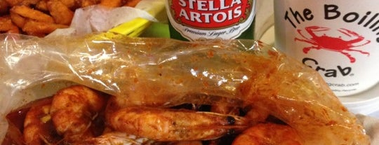 The Boiling Crab is one of Bay Area.