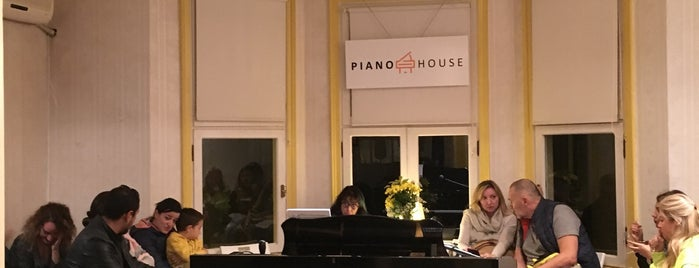 Piano House is one of İstanbul - 2.