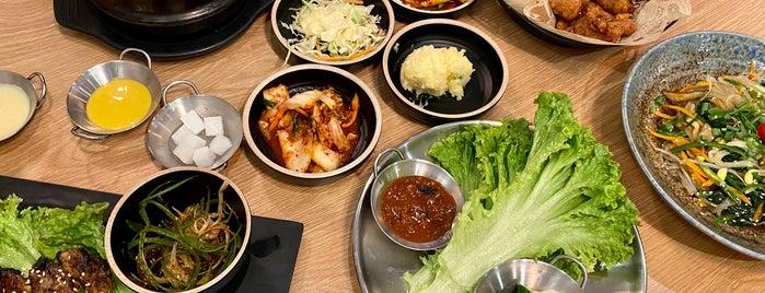 Doong Ji Korean Restaurant is one of Restaurants.