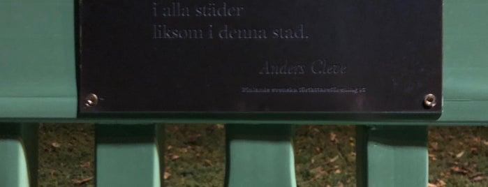 Kirjailijanpuisto is one of Helsinki.
