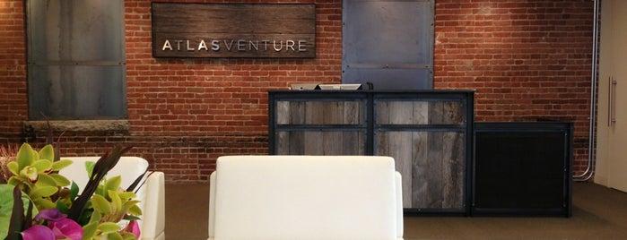 Atlas Venture is one of Boston.