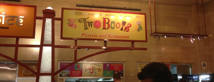 Two Boots Grand Central is one of Vegan.