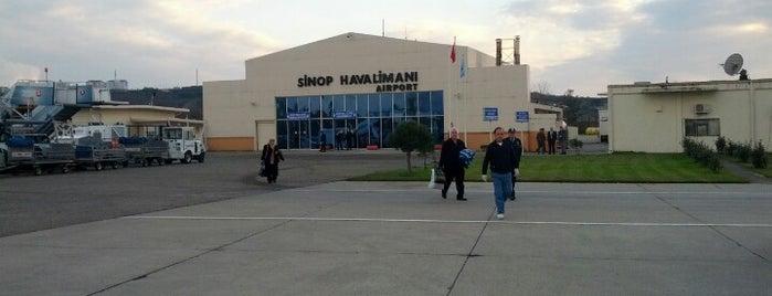 Sinop Havalimanı (NOP) is one of Airports in Turkey.