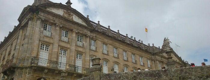 Concello Santiago de Compostela is one of Tempat yang Disukai Miguel.