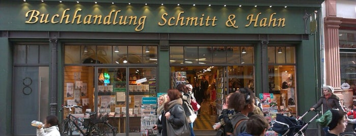 Schmitt & Hahn Buchhandlung is one of Heidelberg!.