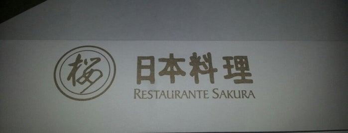 Sakura is one of Seville.