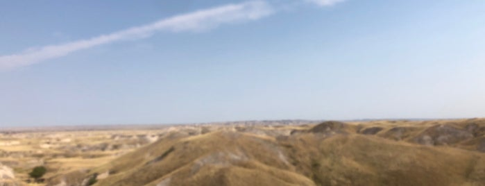 Badlands national Park (Pine Ridge) is one of To Fly For.