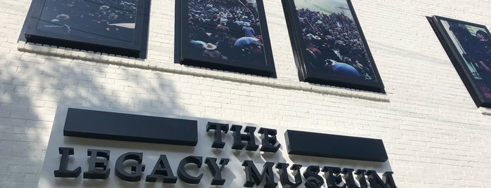 The Legacy Museum: From Enslavement to Mass Incarceration is one of Locais curtidos por Shawn.