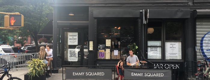 Emmy Squared is one of Pizza list.