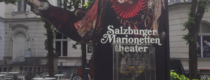 Salzburger Marionettentheater is one of SALZBURG.