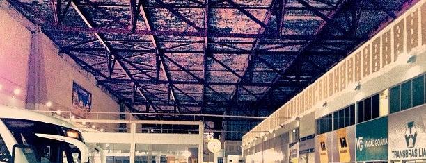 Terminal Rodoviário de Goiânia is one of Tempat yang Disukai priscila.