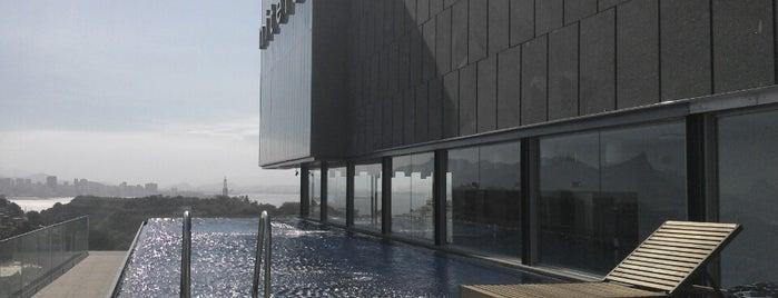 H Niterói Hotel is one of Posti che sono piaciuti a Mayara.