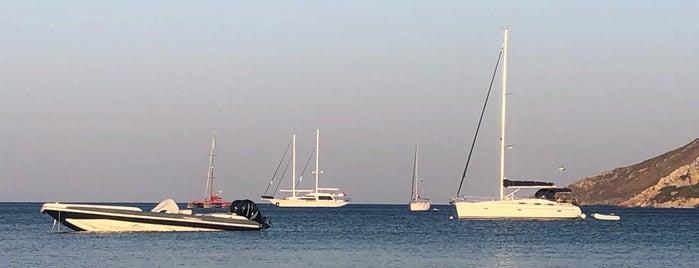 Alinda Beach is one of Leros.