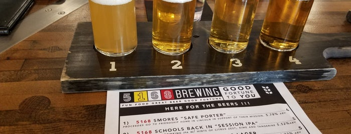 5168 Brewing Taproom is one of Omaha.