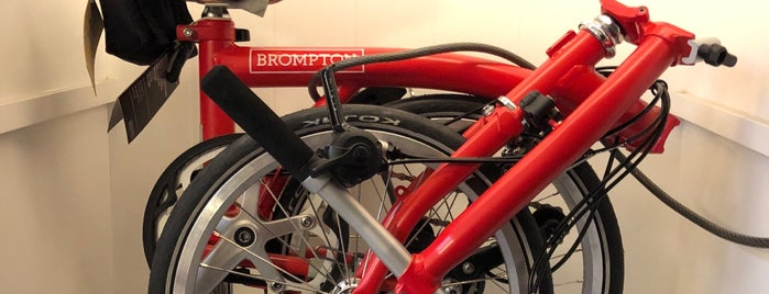 Brompton Mexico is one of Bikologoさんのお気に入りスポット.